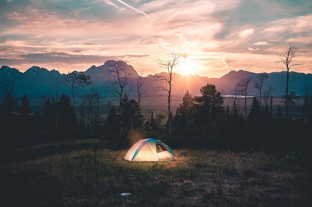 Slapen in de tent met hooggevoeligheid