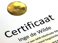 MIR Methode I Certificaat