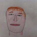 Zelfportret van een kind