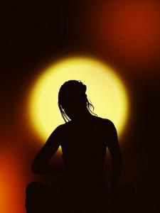 Mediteren om bij jezelf te blijven