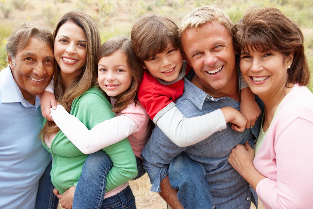 Familieziel van generaties