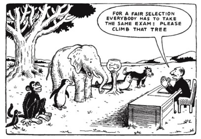 Ouderwets schoolsysteem